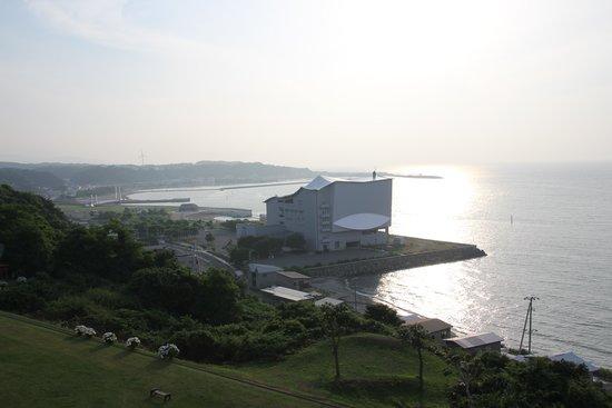 Hotel Grand Mer Sankaiso: 日本海への夕陽