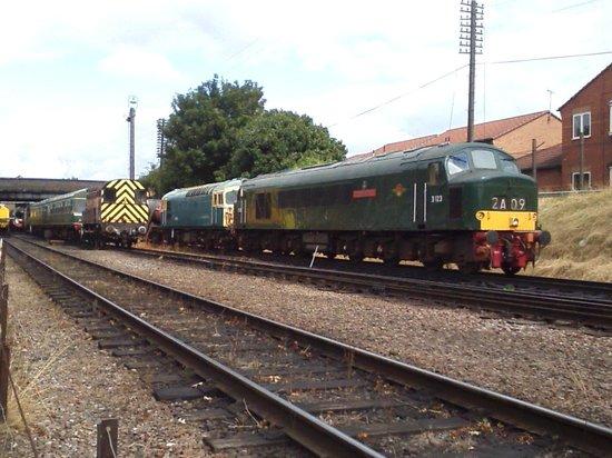 Great Central Railway: British Railways, Peak Class, Diesel Locomotive.