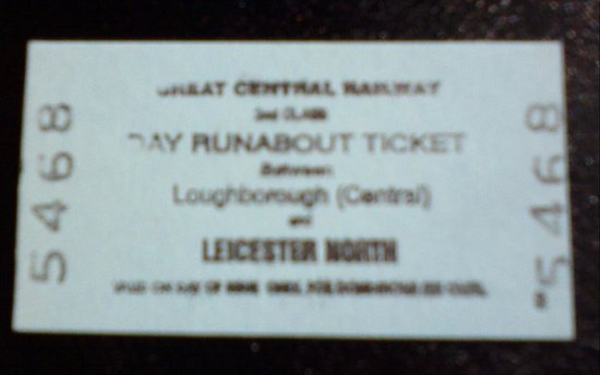Great Central Railway : Ticket to ride