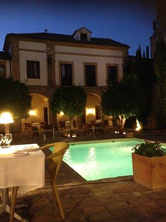 Hotel Puerta de la Luna: Dinner view!