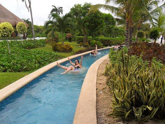 Grand Sirenis Riviera Maya Resort & Spa: Río lento