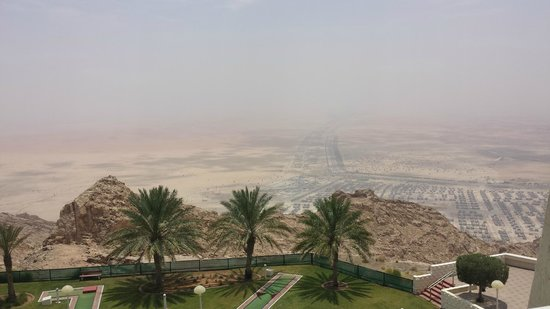 Mercure Grand Jebel Hafeet Al Ain: Taken from our room...What a lovely the view