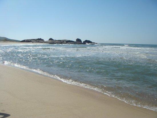 Praia Mole em direção a Galheta