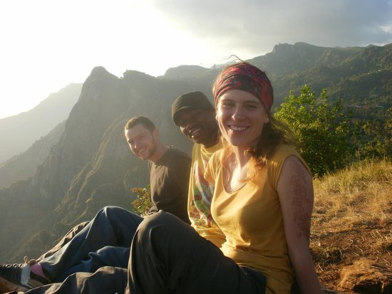 Usambara Mountains: with Raymond at the lookout point