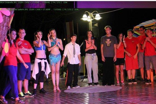 Poljana Camping Village Resort: staff spettacolo sabato sera
