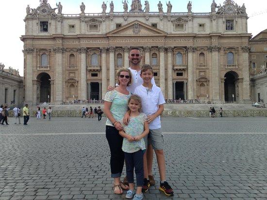 Rome Driving Tours : Vatican City