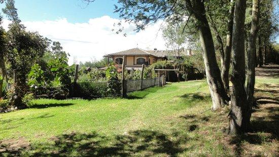 Hotel Casa de Hacienda La Jimenita: Lovely grounds
