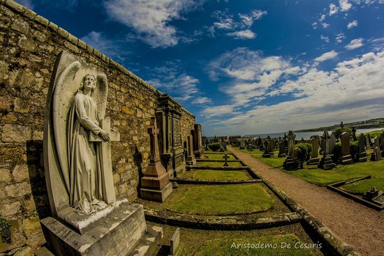 St Andrews Cathedral : Cimitero