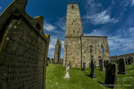 St Andrews Cathedral : La Torre