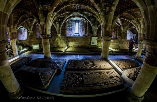 St Andrews Cathedral: La Cripta
