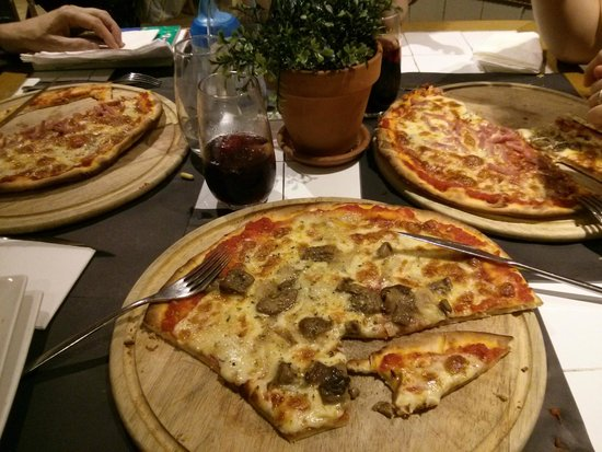 Restaurant La Poma: Pizzas correctes sans plus