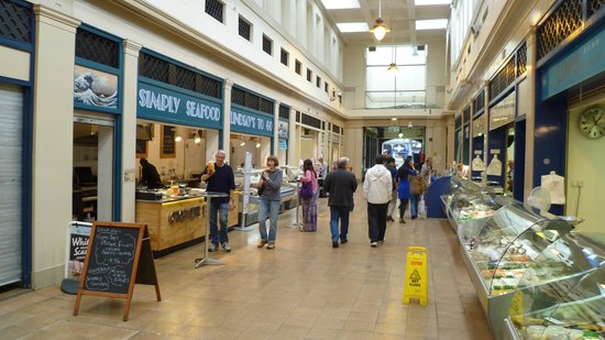 Simply Seafood Lindsays to Go Grainger Market Newcastle