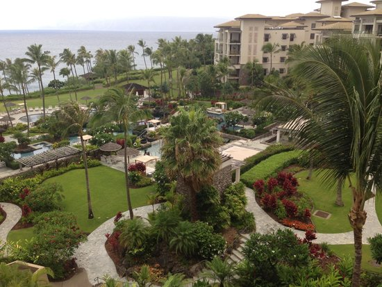 Montage Kapalua Bay: Property view from 3603