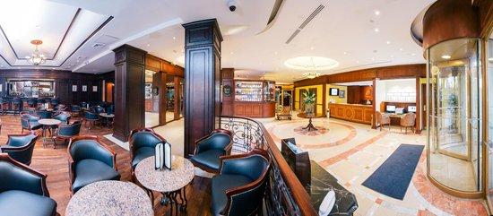 Hilton Princess Managua: Panoramica Lobby y Bar