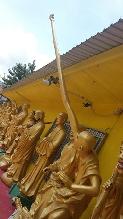Ten Thousand Buddhas Monastery (Man Fat Sze): 1 of the most interesting to me