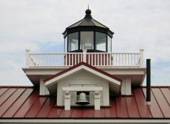 Roanoke Marshes Lighthouse: Daytime