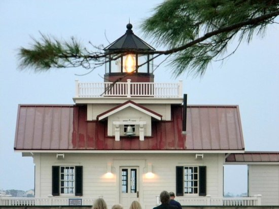 Roanoke Marshes Lighthouse: View from the park