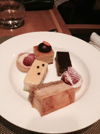 The Langham: Some of the cake selection