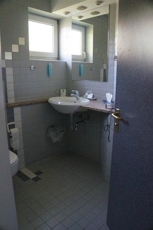 Domizil Tübingen: spaciuos bathroom
