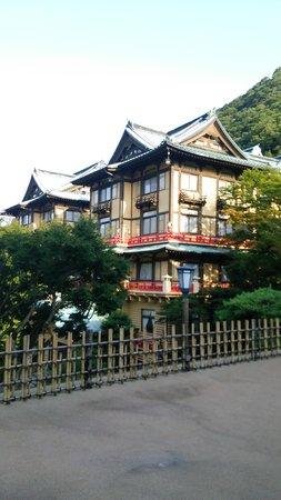 Fujiya Hotel: 花御殿です。