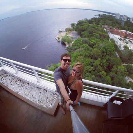 Bistro Mon Plaisir -Manaus: Vista.