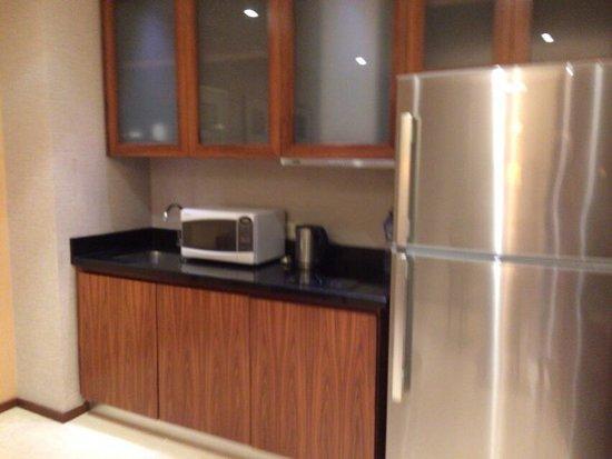 Hilton Bandung: 部屋のキッチン