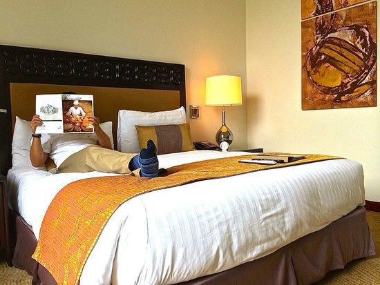 فيرمونت ماكاتي مانيلا: Room at the Fairmont Makati