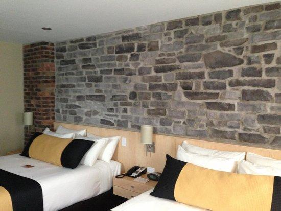 Hotel du Vieux-Quebec : Standard 2 queen