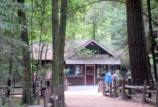 Henry Cowell Redwoods State Park Visitor Center, Felton, CA