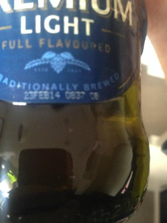 Peppers Craigieburn: Beer 6 months out of date