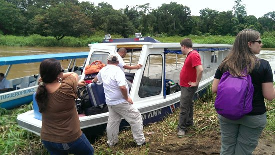 Ecoterra Costa Rica: The boat to Tortuguero National Park