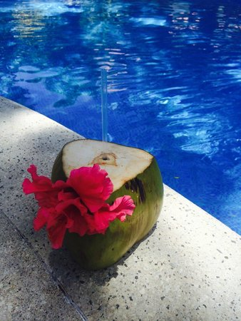 coconut drink by Pipin