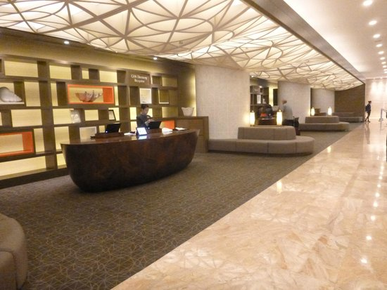 Pan Pacific Singapore: Reception