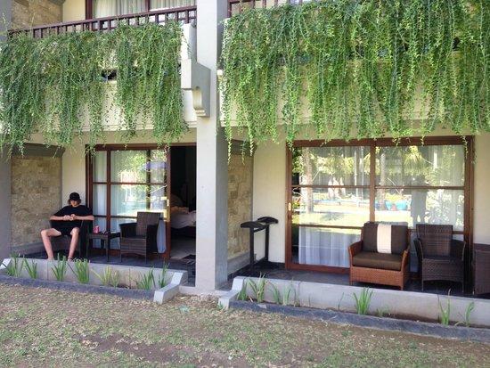 Bali Dynasty Resort: Ground floor rooms