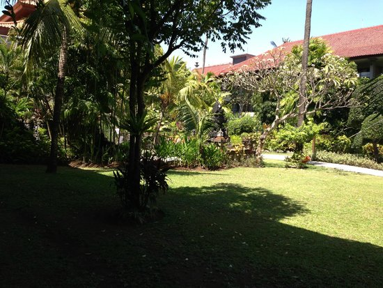 Bali Dynasty Resort: View from our room