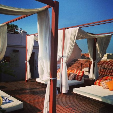 Ananda Hotel Boutique : rooftop