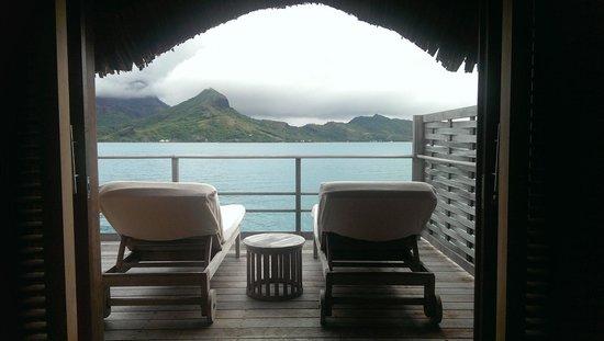 Four Seasons Resort Bora Bora: Mountain view