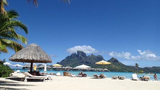 Four Seasons Resort Bora Bora: The main beach