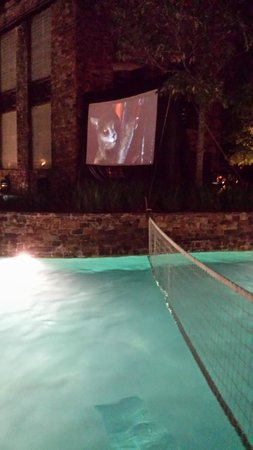 The Woodlands Resort & Conference Center: Dive in Movie for the kids