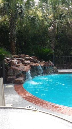The Woodlands Resort & Conference Center: One of the pool areas in the older section