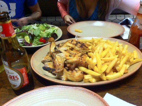 Nando's: frango saboroso