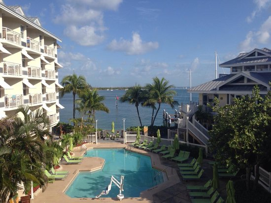 Hyatt Centric Key West Resort and Spa : Great view from our room 2201