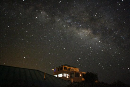 Blue Horizon Resort: You could really see the milky way at night!