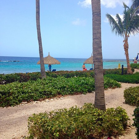 Curacao Marriott Beach Resort & Emerald Casino: View from beachfront room