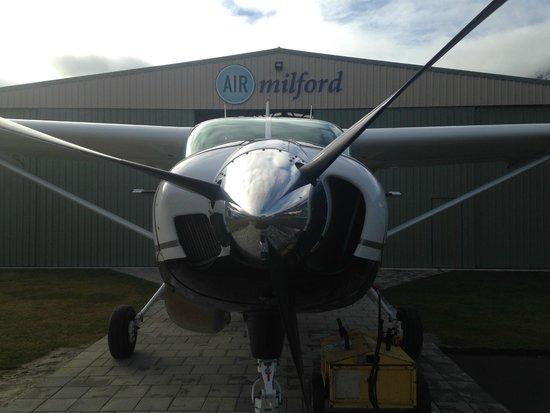 Cessna Caravan 208 ZK-SKA at Air Milford Base Queenstown