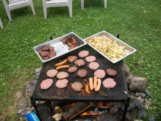 Moose Track Adventures: Evening Hamburger Cookout with Family and Friends