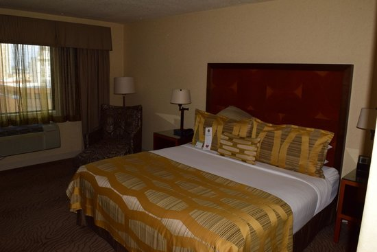 Paramount Hotel: King sized bed