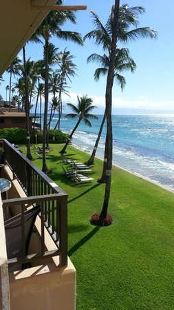 Paki Maui Resort: view from 202A