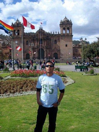 Plaza de Armas (Huacaypata): Rústico