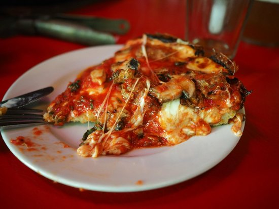 pequods Pizza: One hearty slice of pan pizza